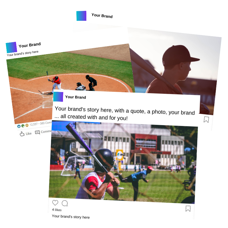 sportsmanship stories social media brand